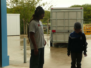 Tye Texas skateboard lessons